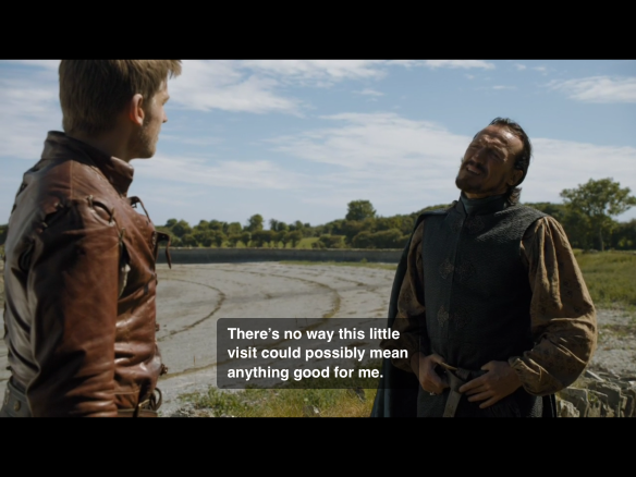 Tyrion's big brother comes along and ruins everything.