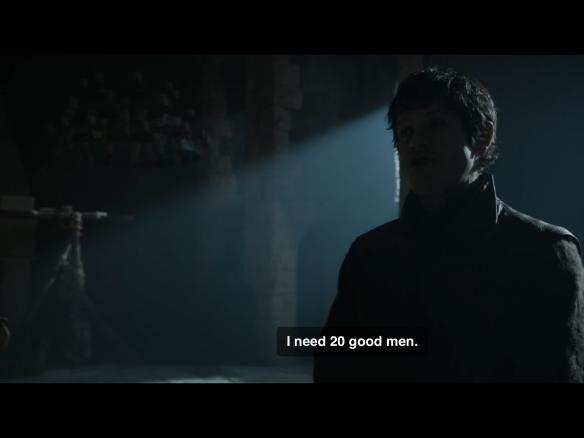 "Ramsay says: ""Give me 20 good men."""