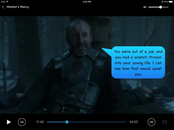 Stannis, my contribution: